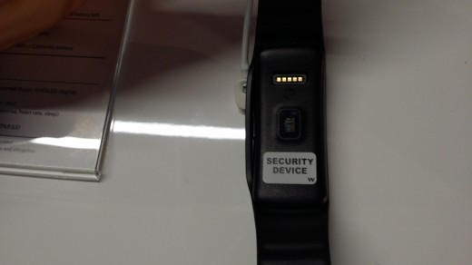 Gear Fit sensor 520x292 Wrists on with the Gear 2, Gear 2 Neo and Gear Fit