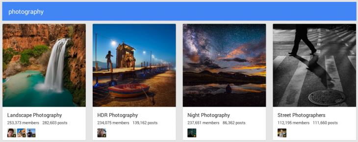 Googleplus communities