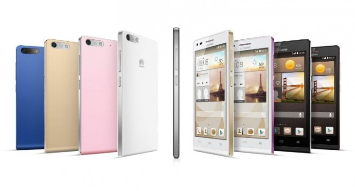 Huawei unveils the Ascend G6, a skinny 4G-enabled Android smartphone