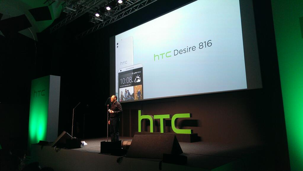 HTC unveils mid-range Desire 816 Android smartphone with 5.5