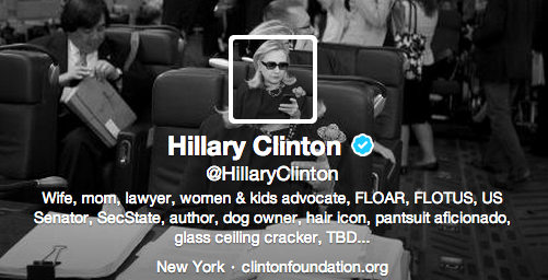 Hillary Twitter bio How to write a professional bio for Twitter, LinkedIn, Facebook, and Google+