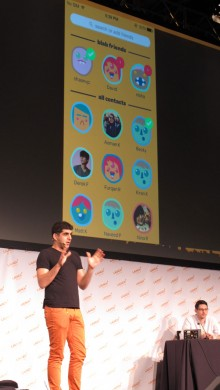 IMG 0067 220x390 Bebos revival begins with the debut of Blab, its 1:1 ephemeral video messaging service
