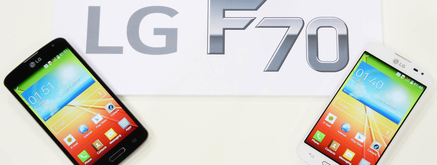 LG Announces The F70, A 4.5 Inch LTE Device