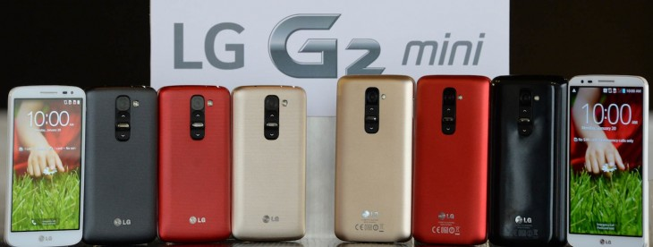 LG officially announces the G2 Mini, a smaller version of its flagship Android smartphone G2