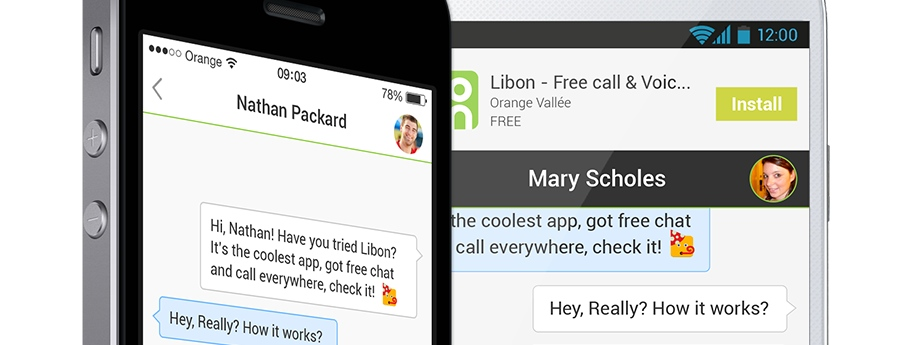 Orange Adds a Clever Take on Mobile Messaging to its Libon App