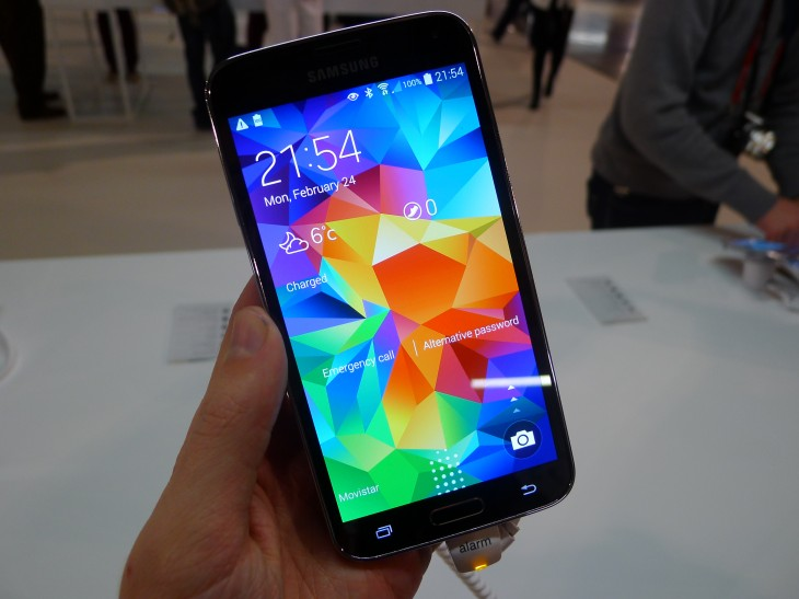 Samsung Galaxy S5 hands-on: Is the Heart Rate Monitor Just a Gimmick?