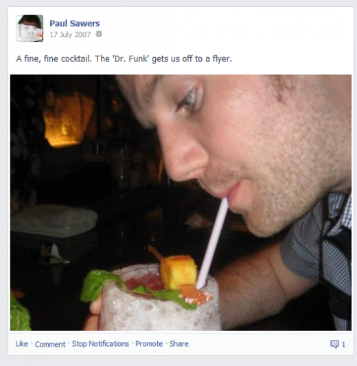 Extra points to Paul for including an image in his first post.