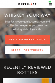 Photo 06 02 2014 17 04 22 220x330 Dram good: Distiller for iOS wants to be the ultimate whisky drinkers companion