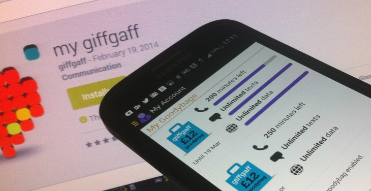 GiffGaff, the UK people-powered mobile network, launches native Android app