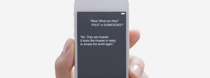 This strange Huawei video uses Siri and an iPhone to tease its next smartphone and tablets