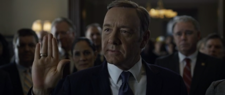 Are you binge-watching House of Cards? I just can't keep up