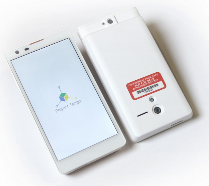 Google announces Project Tango Tablet Development Kit, coming with Nvidia's Tegra K1 for $1,024 ...