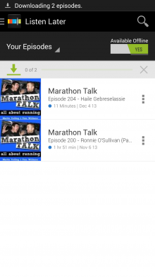 Screenshot 2014 02 21 09 24 42 220x391 Looking for offline podcasts? Stitcher for Android just got a whole lot better.