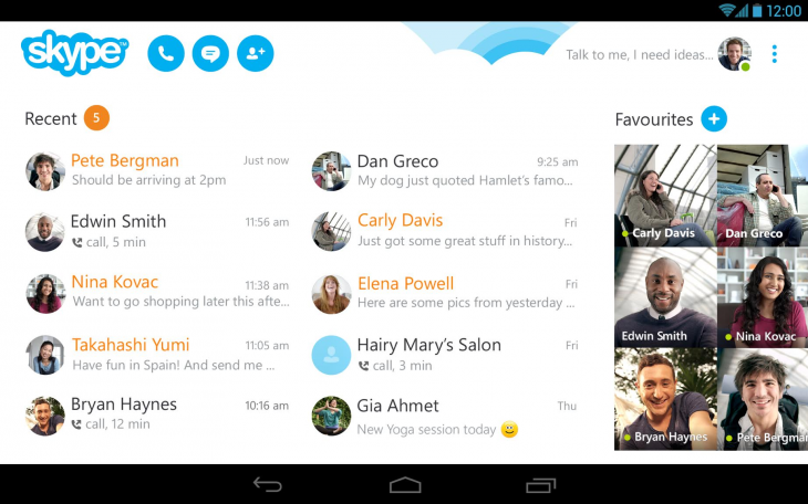 Skype update 730x456 Skype finally syncs notifications across all platforms, remedying its biggest flaw