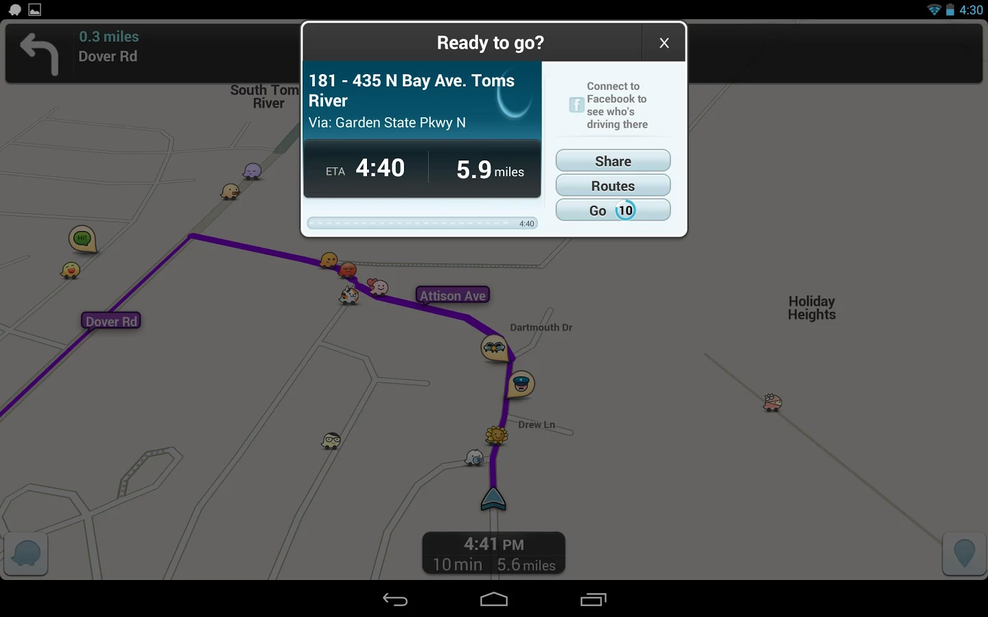 waze how to add a roundabout