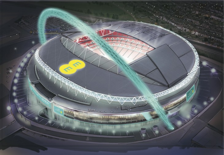 EE and Wembley want to create 'the most connected stadium in the world'