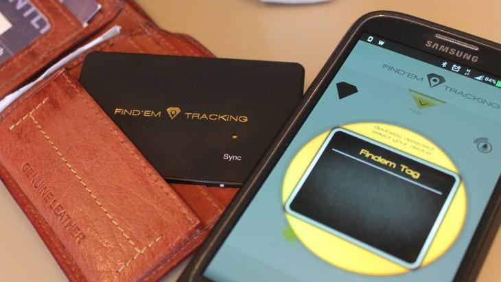 Find'Em Tracking: A Very Thin Bluetooth Tracker