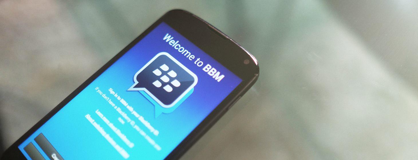 BlackBerry is Bringing Stickers to BBM