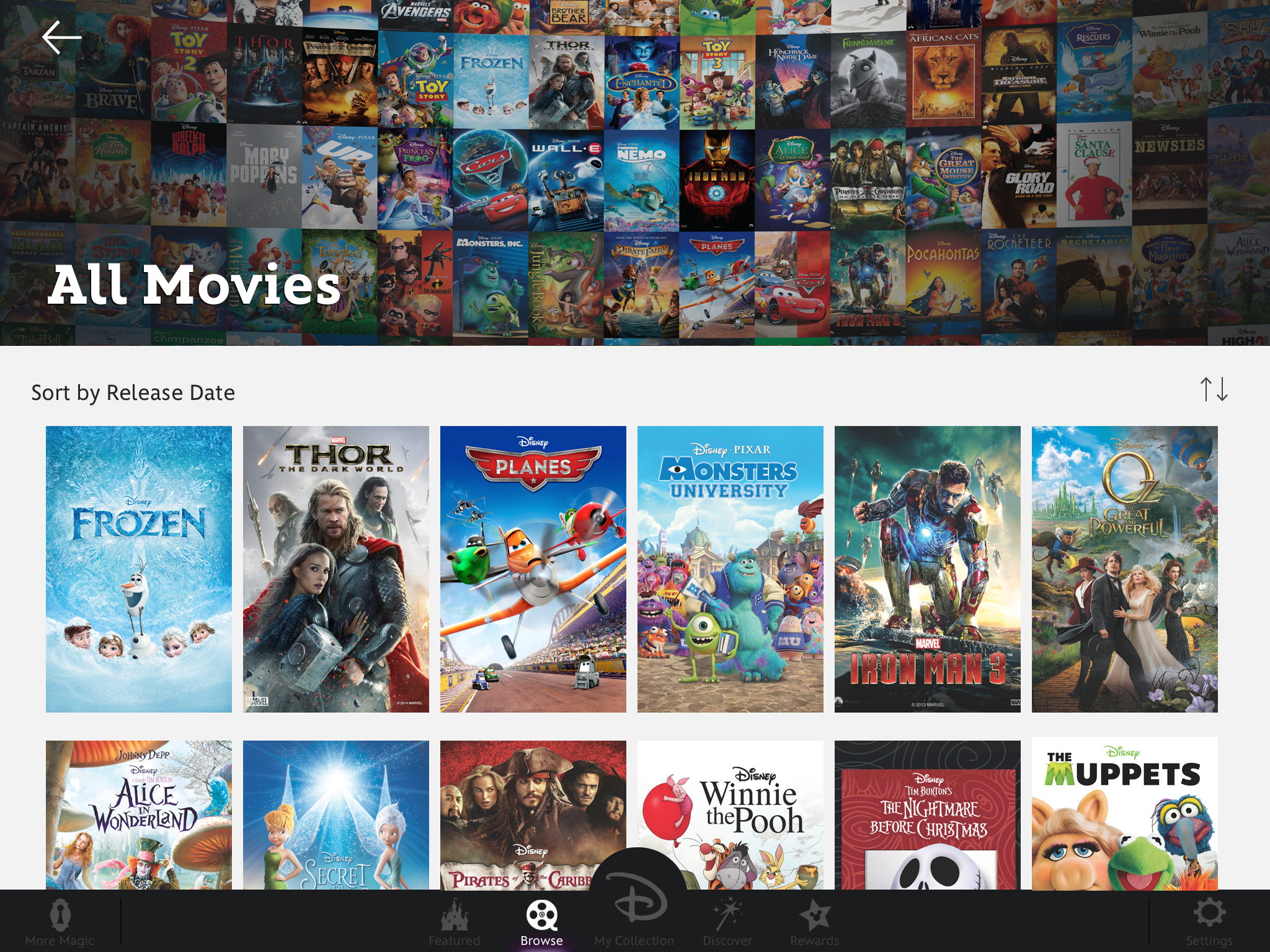 Disney Brings 400+ Films To iOS Devices With Disney Movies Anywhere App