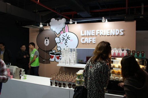 cb1ebdbc 520x346 Asian chat app Line now has its own theme park, and its going global