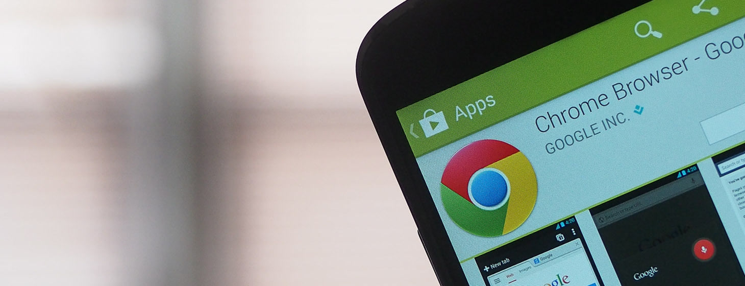 Chrome for Android can now talk to physical objects