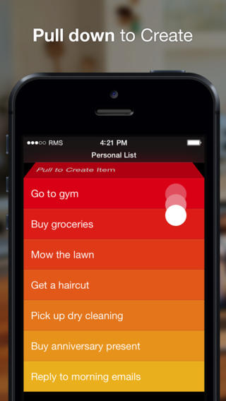 To do list app Clear for iOS to consolidate into a single universal version