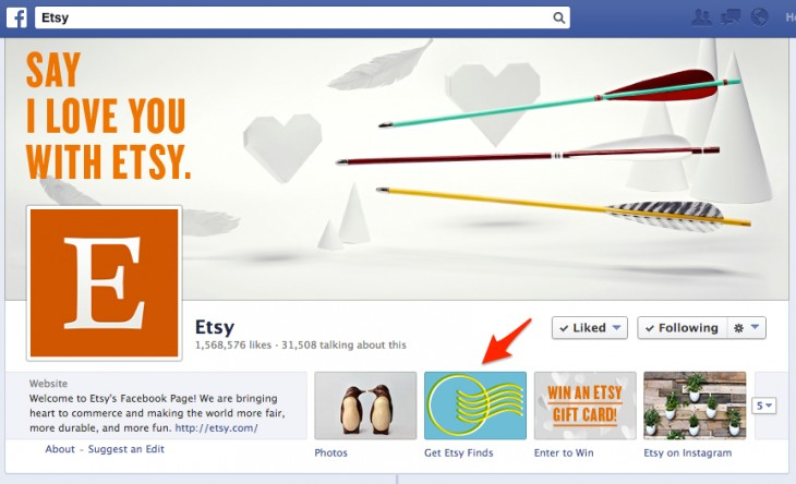 etsy sign up form 730x444 7 ways to improve the quality of your email list with social media