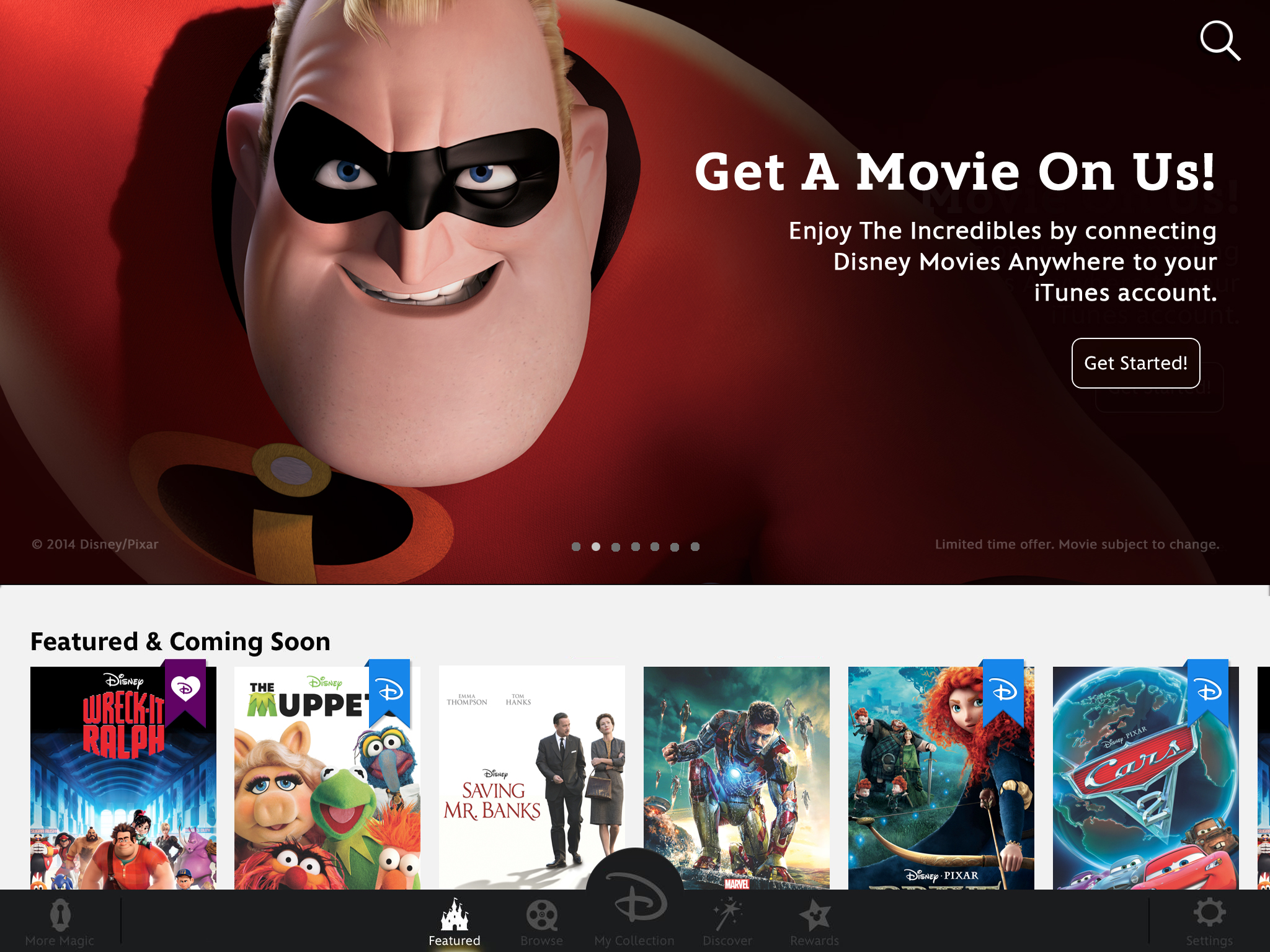 Disney Brings 400+ Films To iOS Devices With Disney Movies
