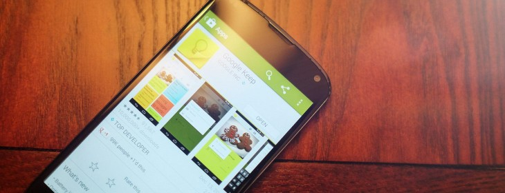 Google Keep now lets you share notes and collaborate in real-time