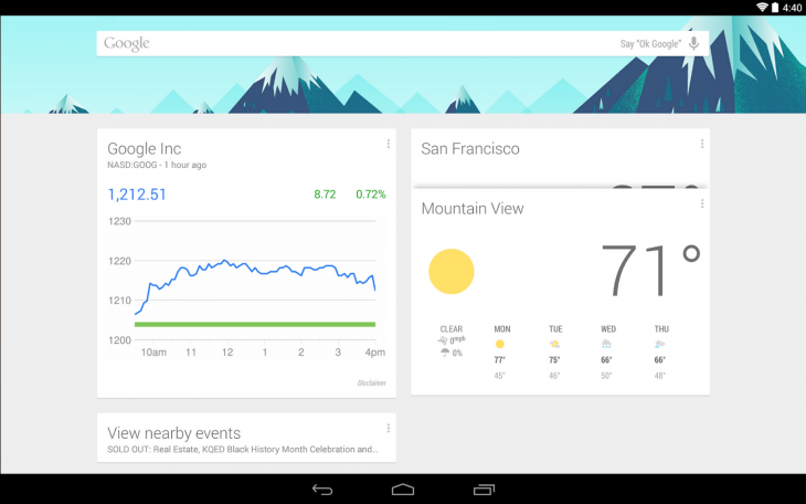 The Nexus 5's Google Now Launcher arrives as a standalone app for Nexus and Play edition devices