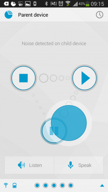 h1 220x391 Dormi is an awesome baby monitor app for Android