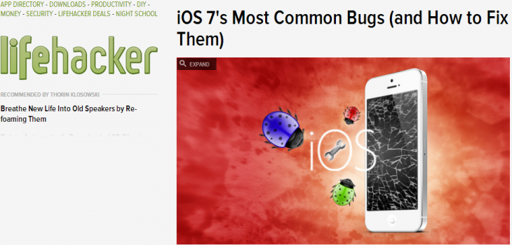 iOS 7's Most Common Bugs  and How to Fix Them