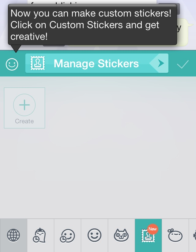 image 31 Multimedia messaging app Cubie now lets you create and share your own stickers