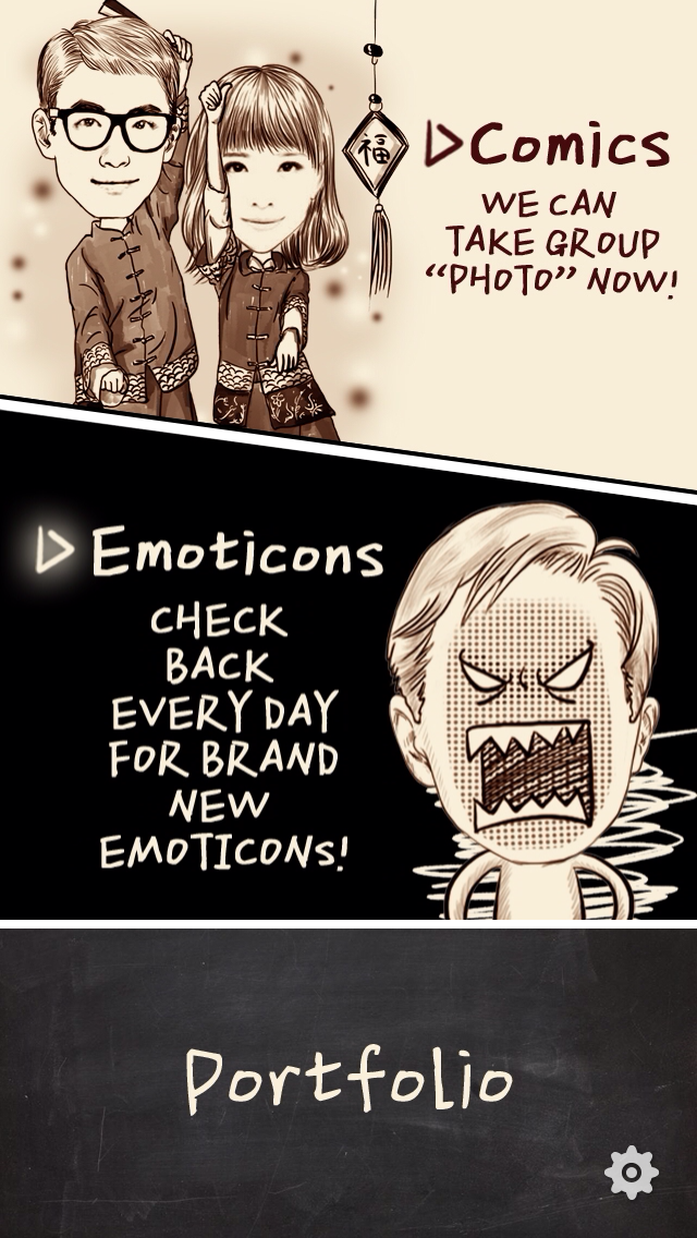 image 3 You can now create your own comic style animated GIFs on Chinese photo app MomentCam