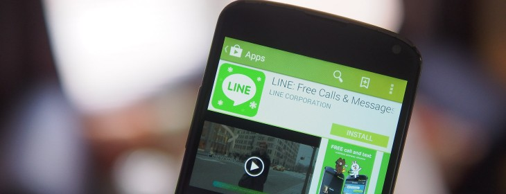Line teams up with Salesforce to help companies connect with users of its messaging service