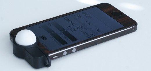 luxi 1 520x245 Luxi turns your iPhone into an incident light meter