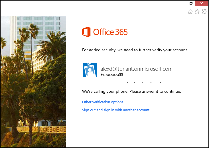 mfa 01 Microsoft adds optional multi factor authentication to Office 365, support for Office 2013 coming later in 2014
