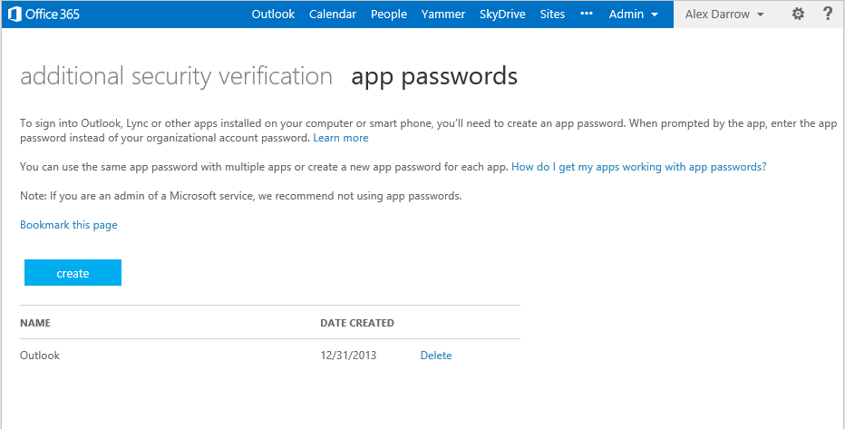 mfa 06 Microsoft adds optional multi factor authentication to Office 365, support for Office 2013 coming later in 2014