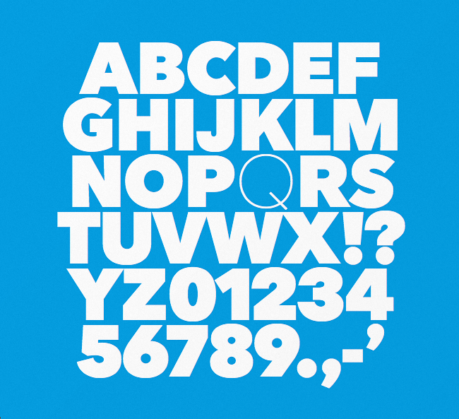 nationale The best typefaces from this past month
