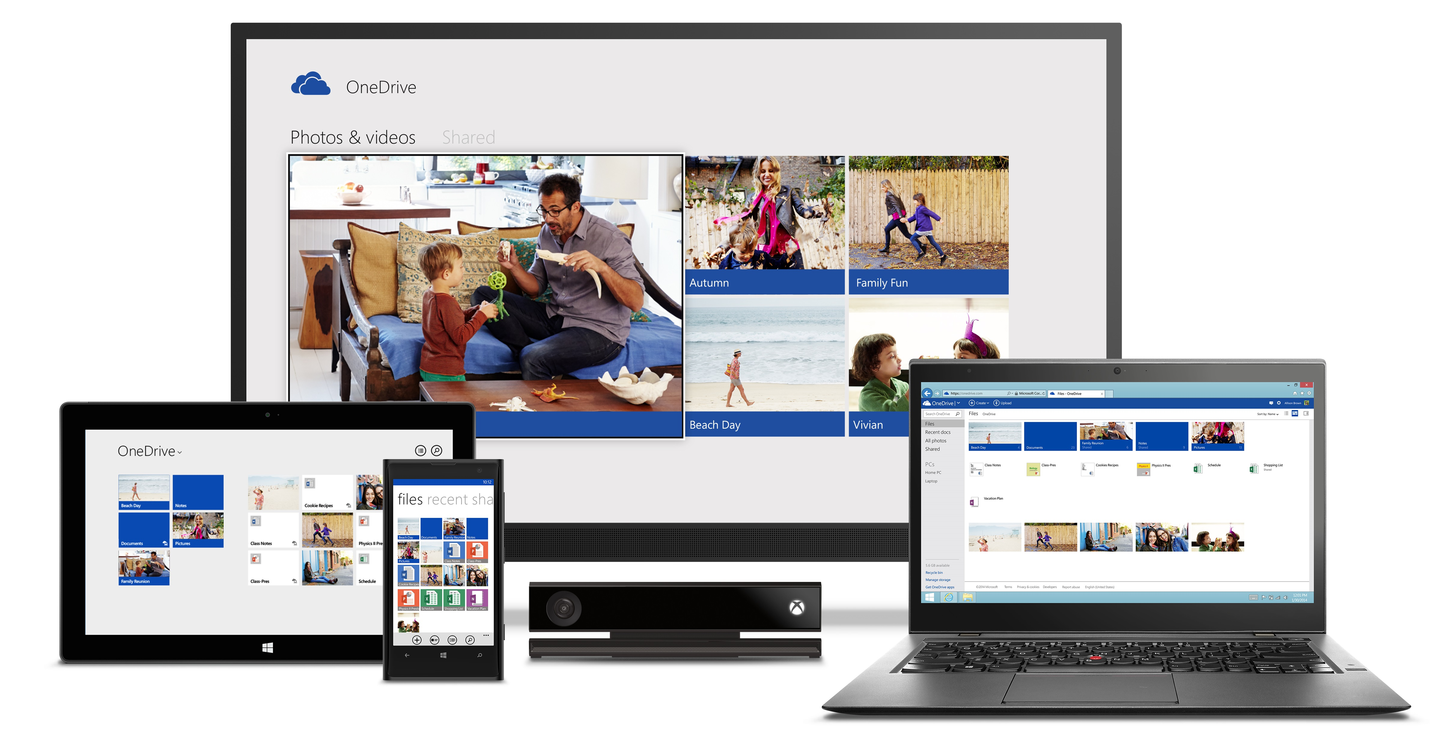 Microsoft Relaunches SkyDrive as OneDrive