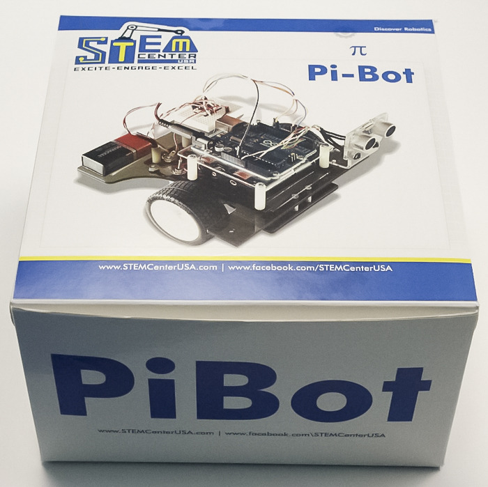 Pi-Bot Teaches Students About Robotics and C Programming
