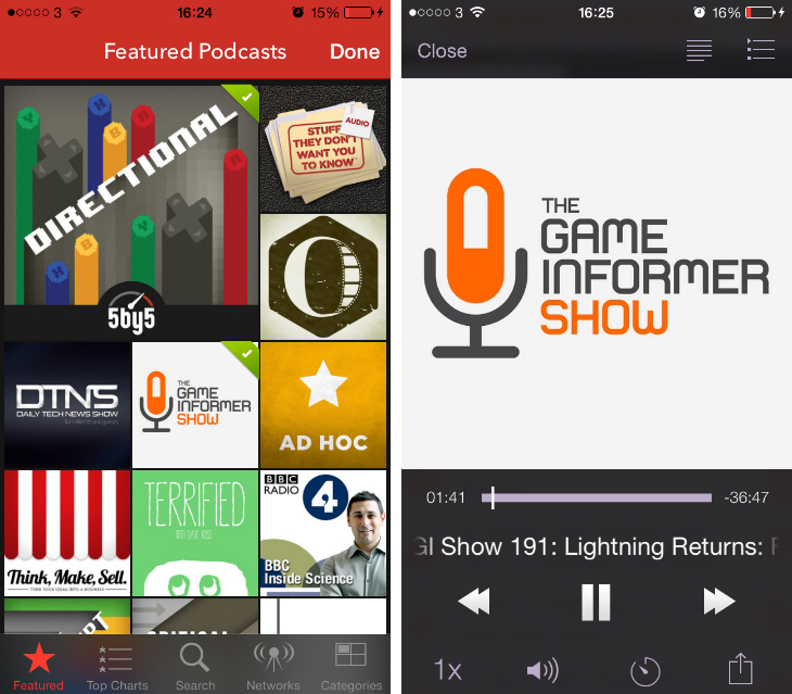 pocketcasts1 9 of the best podcast apps for the iPhone and iPad