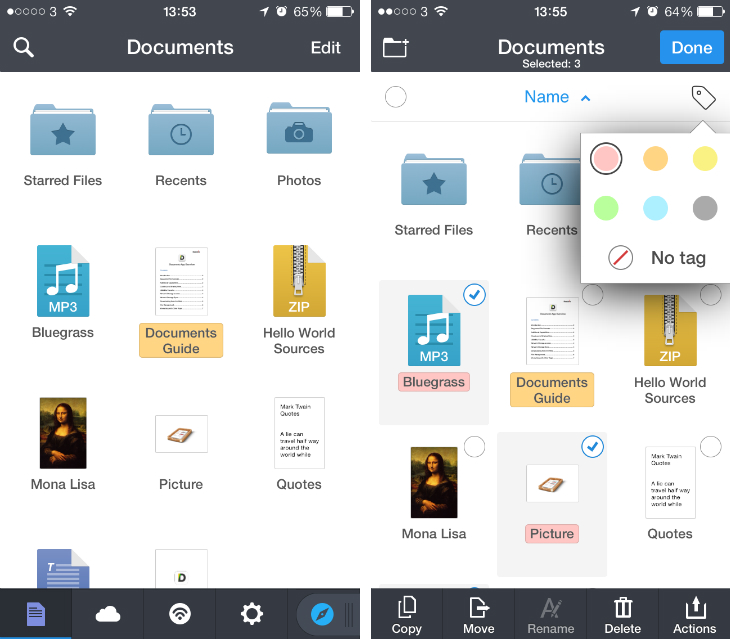 Documents 5 for iOS Adds Integration with Other Readdle Apps on iPad