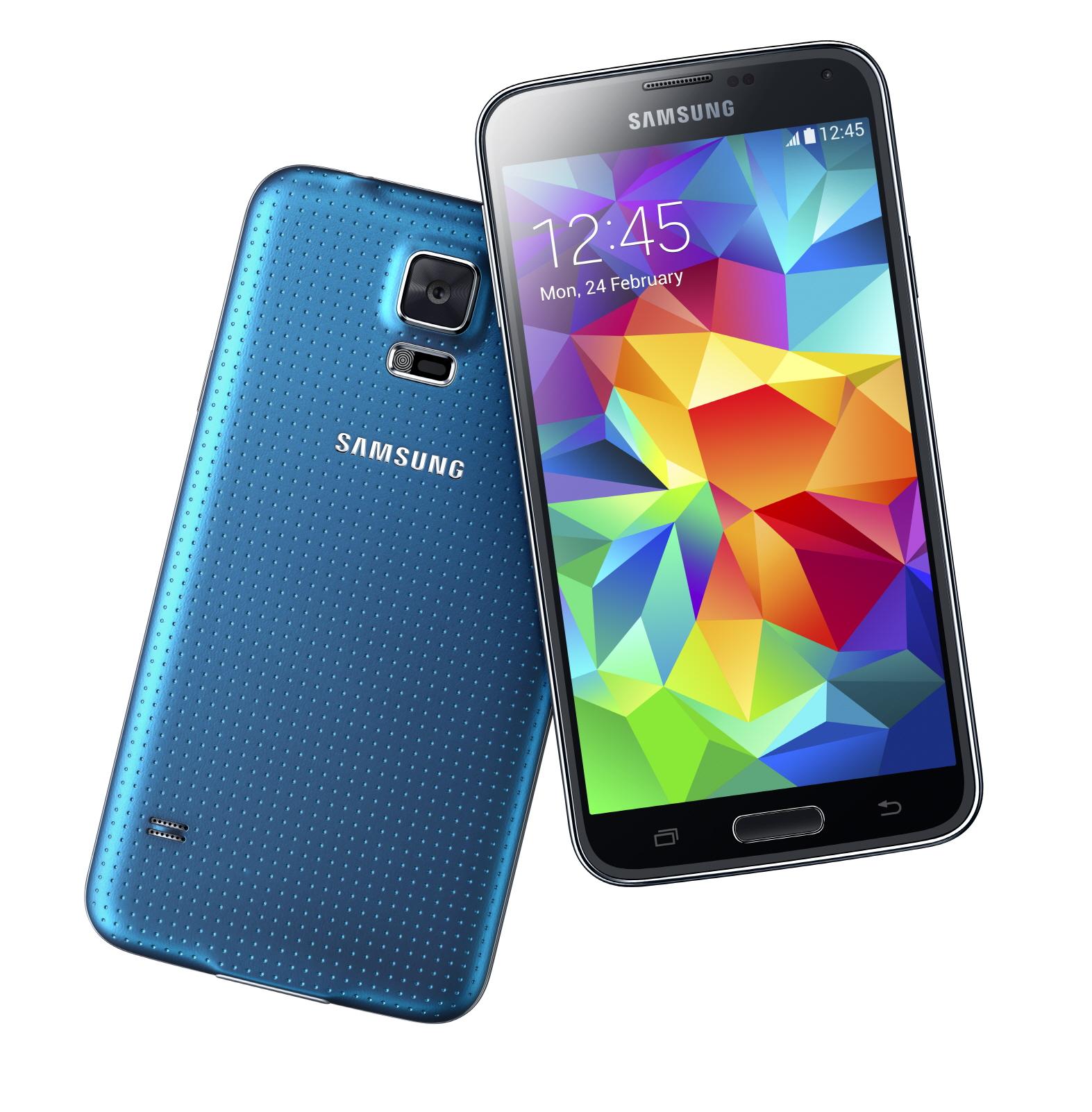 Samsung Galaxy S5 Lands With Fingerprint Scanner Heart