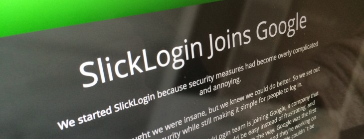 Google acqui-hires 'sounds as passwords' startup SlickLogin