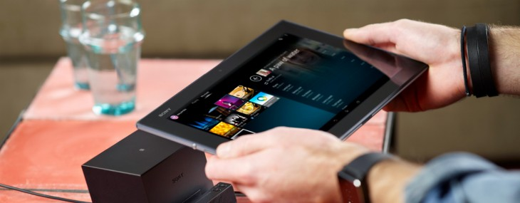Sony launches the Xperia Z2 Tablet, a super-slim 10.1″ slate with an 8MP camera