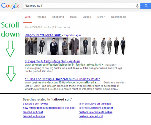 tailored suit  - Google Search