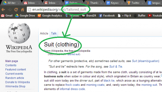 tailored suit wiki