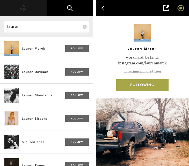 VSCO Cam for iPhone Adds a Photo Feed for Following Other People