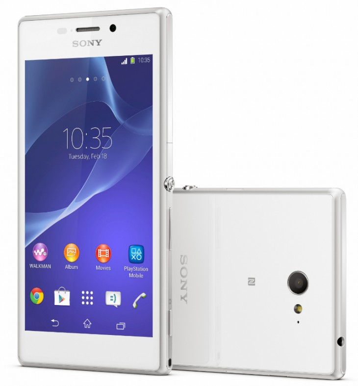 xperiam2group 730x787 Sonys Xperia M2 is a new Android mid ranger with a 4.8 qHD display, 8MP camera and LTE support